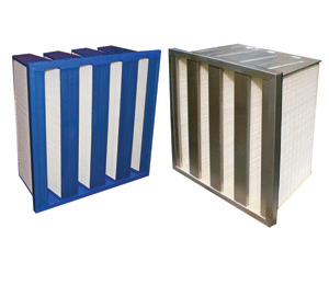 Barrier fine GT (F7-E12) minipleat filter